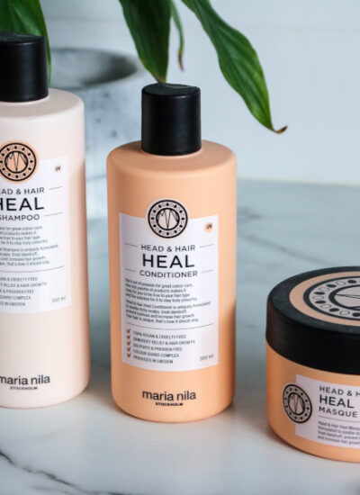 Maria Nila Head & Hair Heal Trio Shampoo Conditioner and Hair Masque review